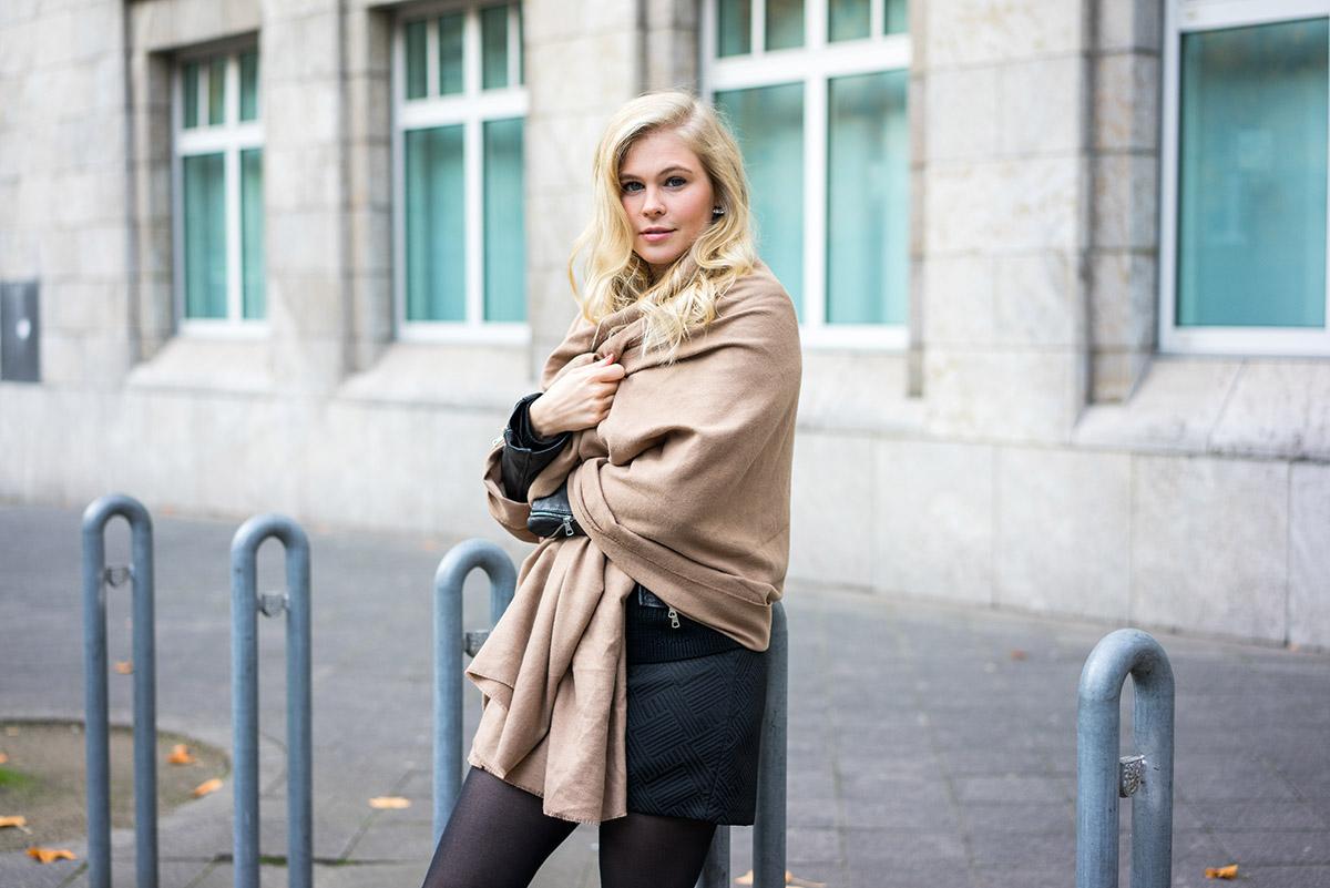 Damen Schal groß