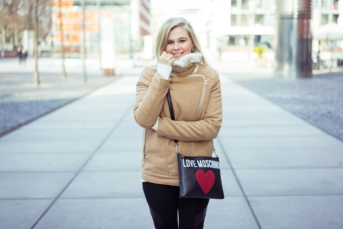 Moschino Tasche Herz