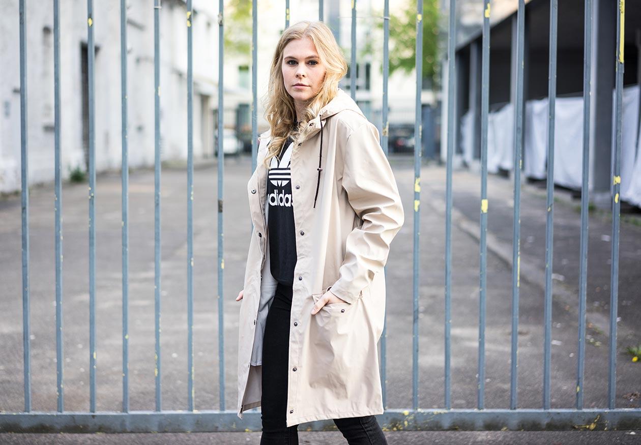 Übergangsmantel beige Sunnyinga Fashionblog Düsseldorf