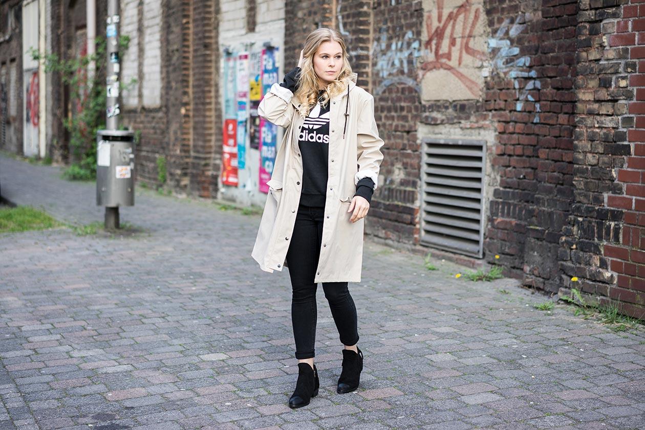 Streetstyle beige Sunnyinga Fashionblog Düsseldorf