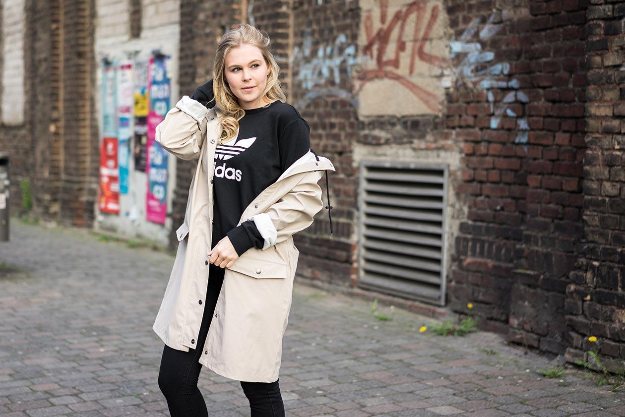 Regenmantel Sunnyinga Fashionblog Düsseldorf