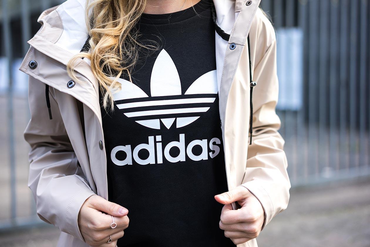 Adidas Sweater schwarz Sunnyinga Fashionblog Düsseldorf