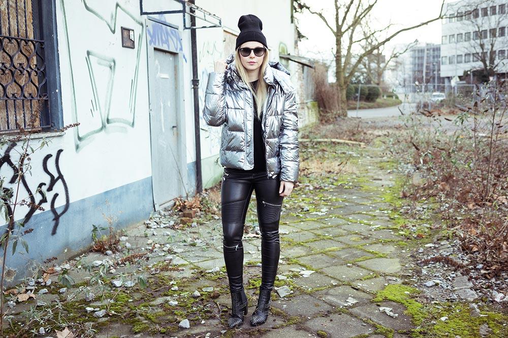 outfit daunenjacke