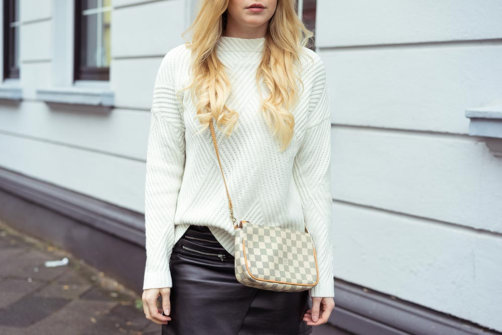 Strickpullover outfit