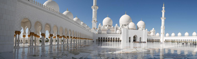 Abu Dhabi scheich zayid moschee