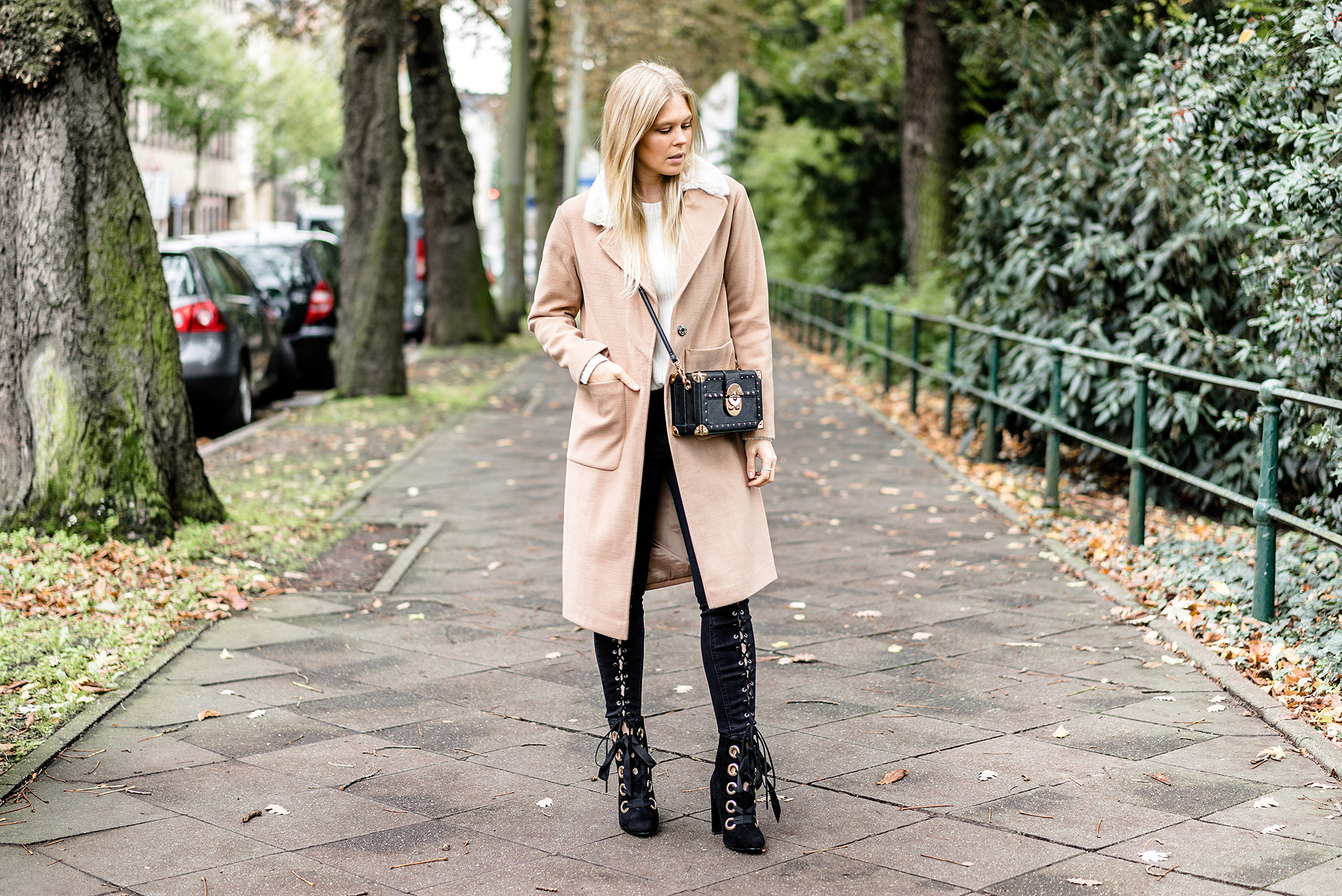 Camel Coat New Look Outfit Fashion Blogger Sunnyinga Düsseldorf