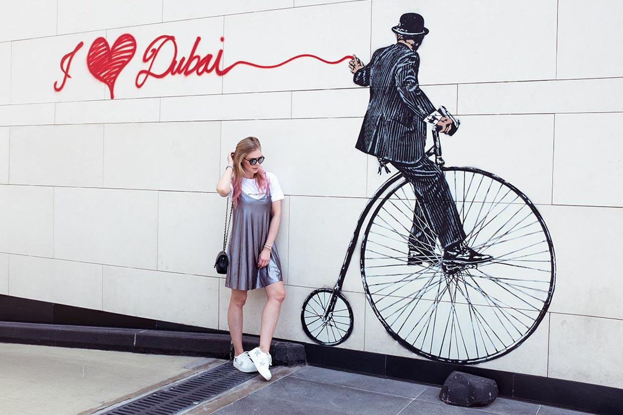 CityWalk Dubai Wallart I Love Dubai Sunnyinga Travelblog