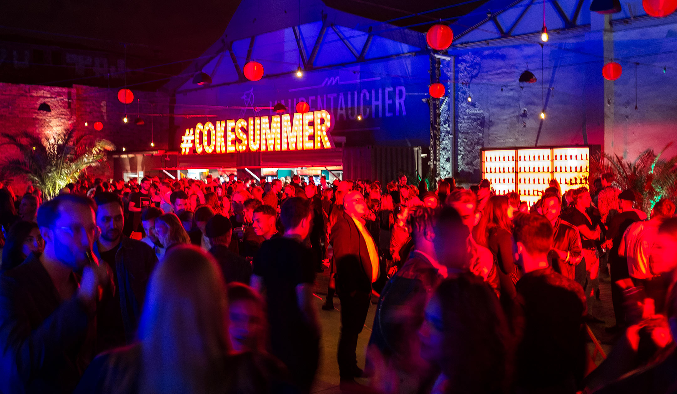 Cokesummer Coca Cola Event Haubentaucher Fashion Week Berlin Sunnyinga
