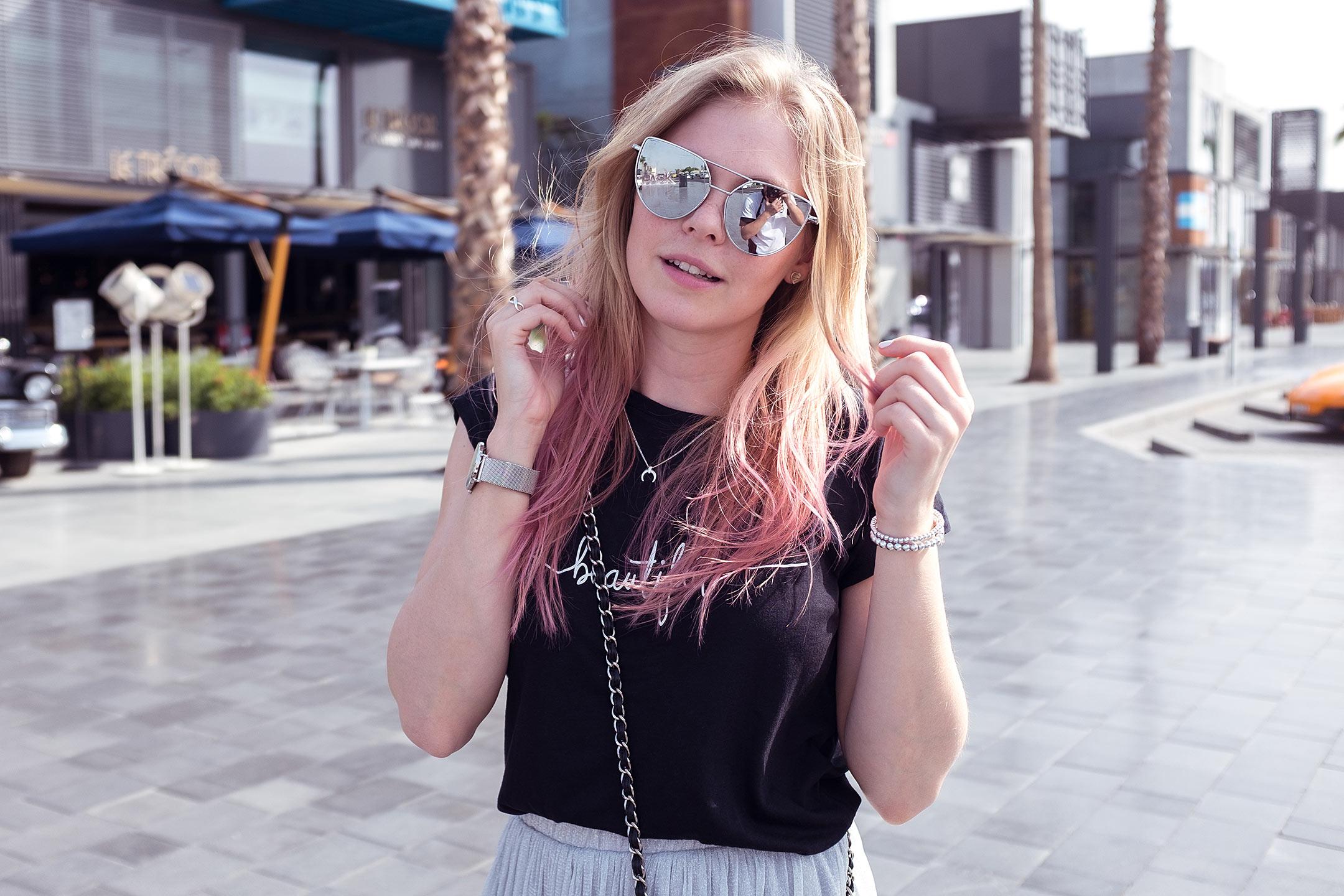 Colovista pinke Haare Sunnyinga Fashionblog Düsseldorf