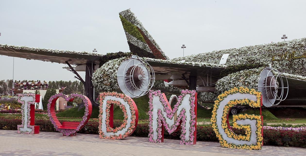 Dubai Miracle Garden Travelblog Sunnyinga