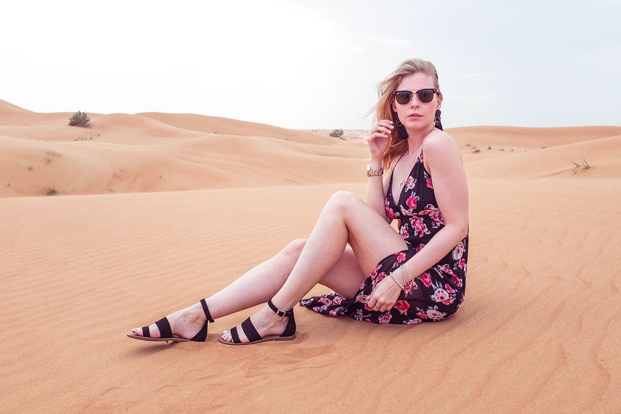 Dubai Rote Düne Sunnyinga Travelblog