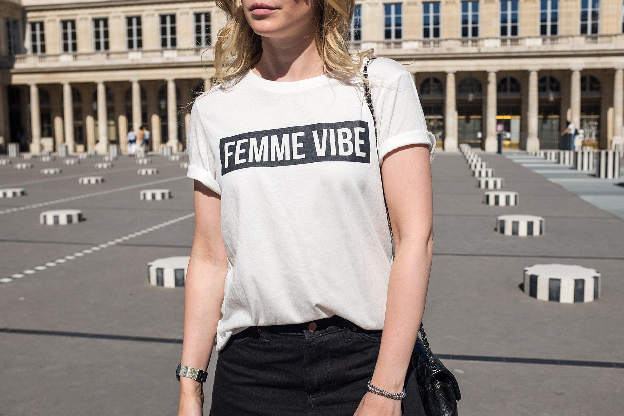 Femme Vibe Shirt Sunnyinga Fashionblog Düsseldorf