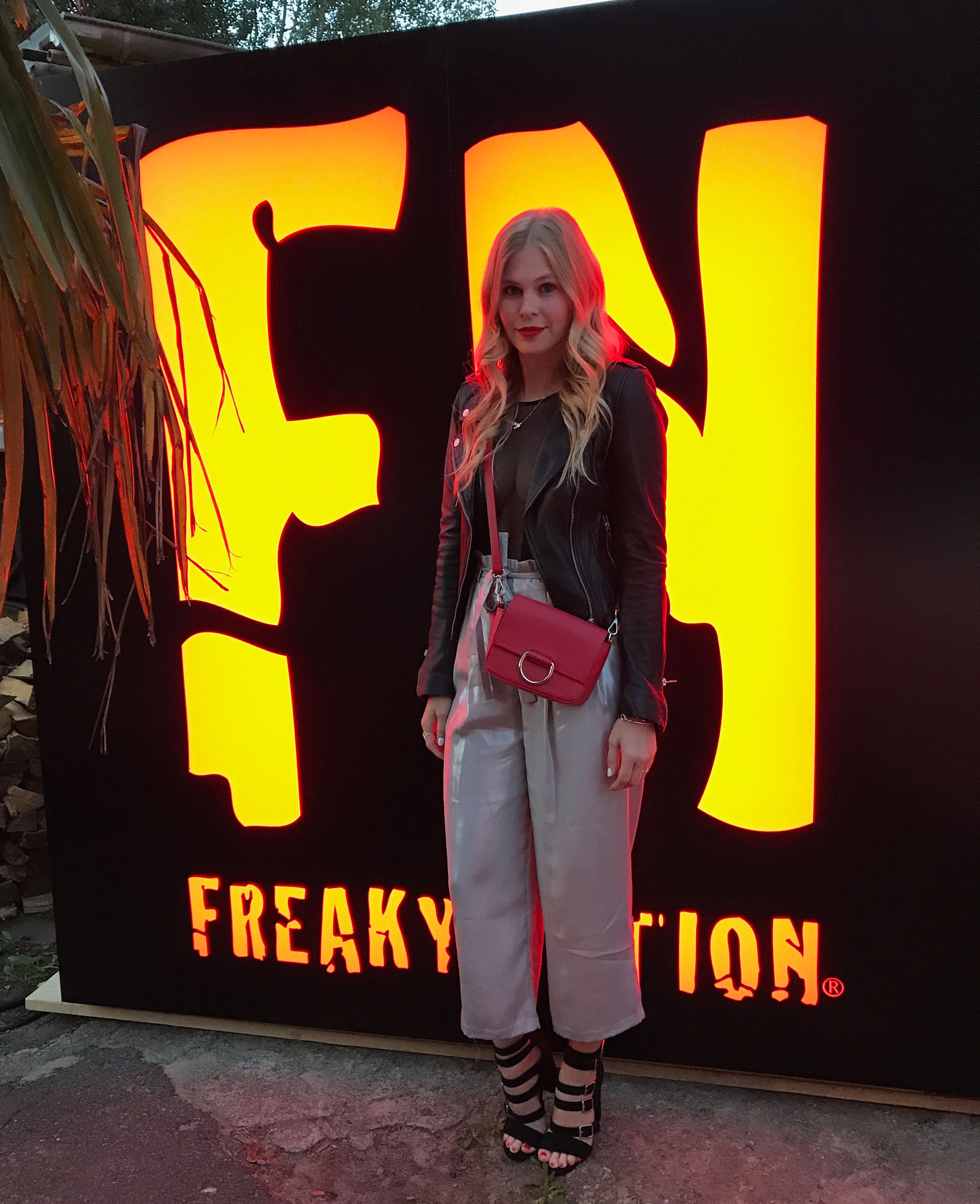 Freaky Nation Lederjacke Event Sage Berlin Fashion Week Sunnyinga