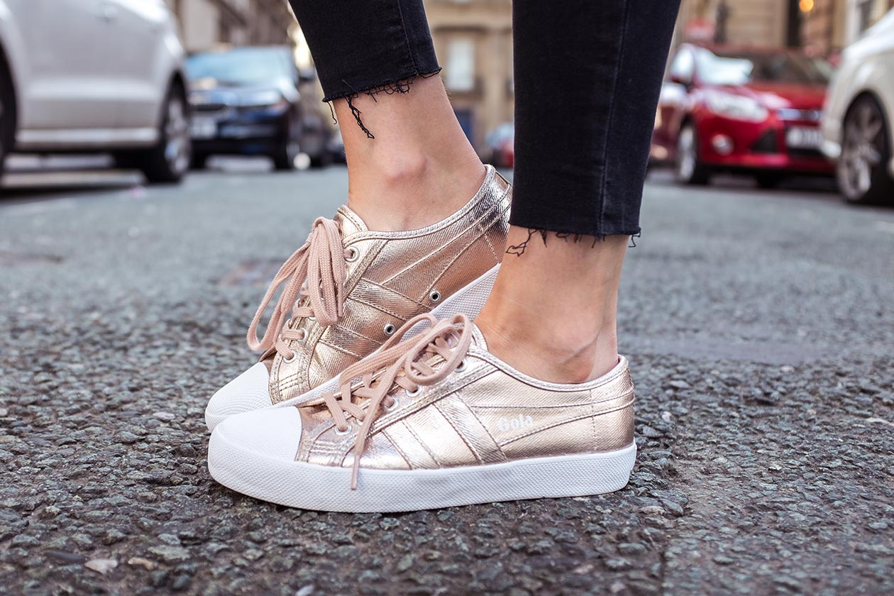 Gola Classics Women Coaster Metallic Trainer Sunnyinga Blog