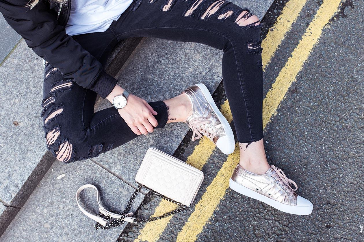 Gola Sneaker Classics Rose Gold Sunnyinga Fashionblog