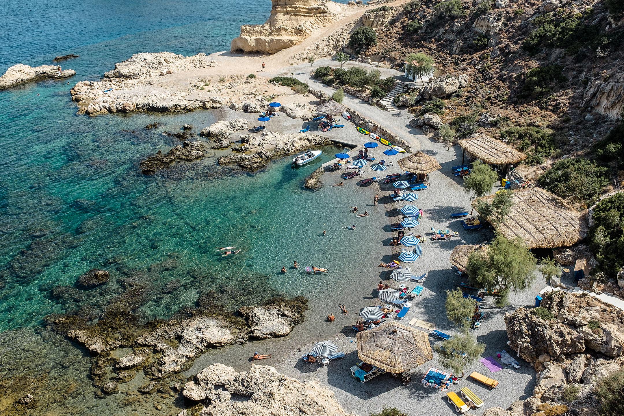 Grande Blue Bucht Rhodos Stegna Geheimtipp Griechenland Travel Blog Sunnyinga
