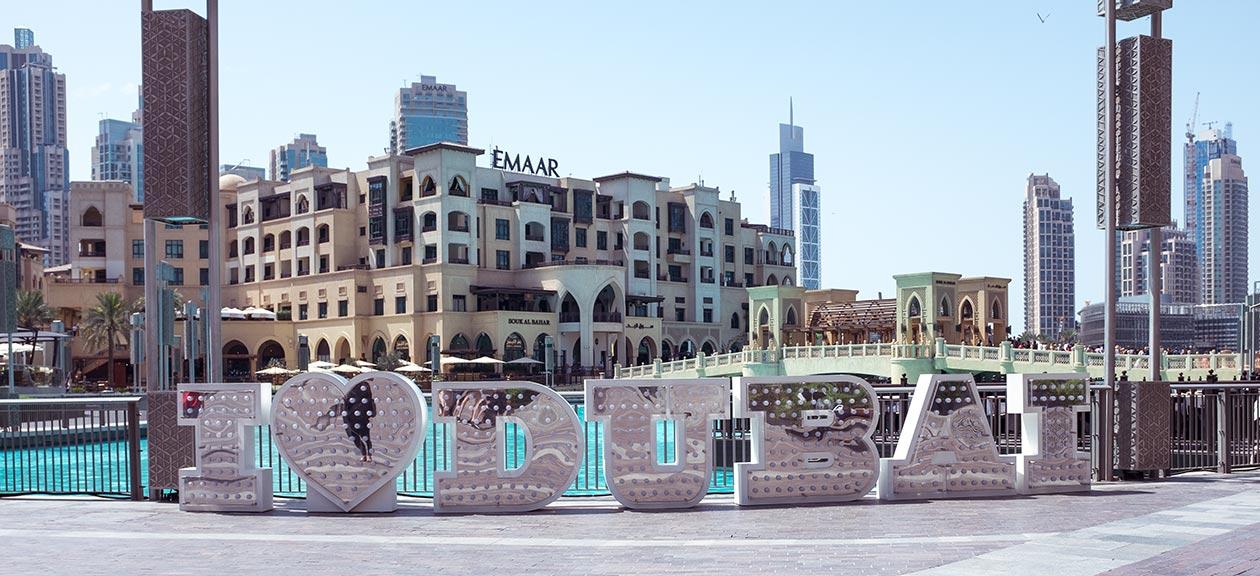 I Love Dubai Buchstaben Dubai Mall Sunnyinga Travelblog