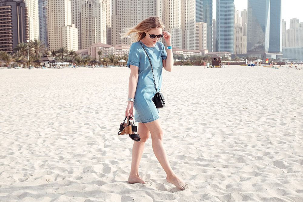 Jeanskleid Denim Dubai Sunnyinga Blog
