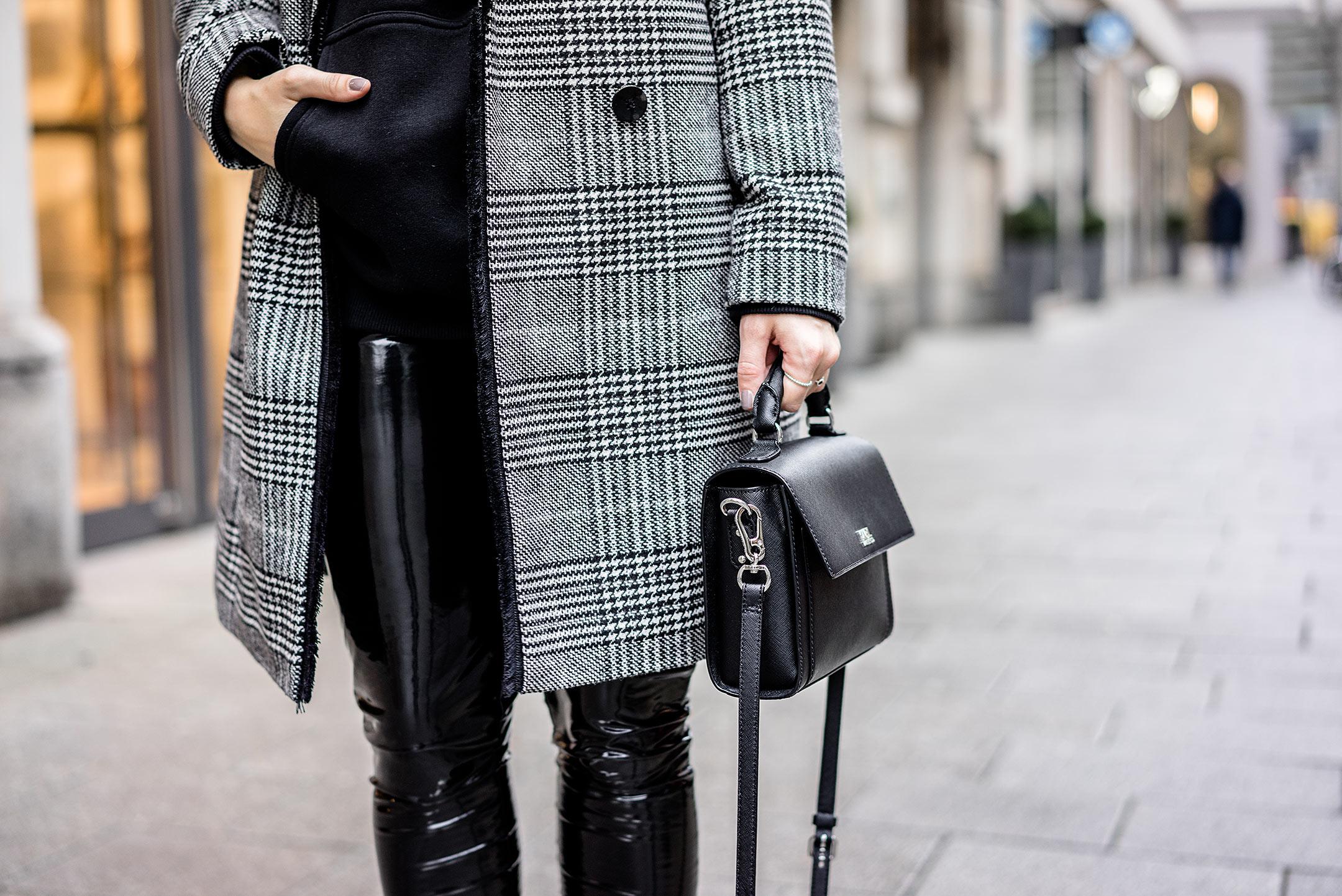 Karo Muster Herbst ootd Modeblog Sunnyinga Düsseldorf