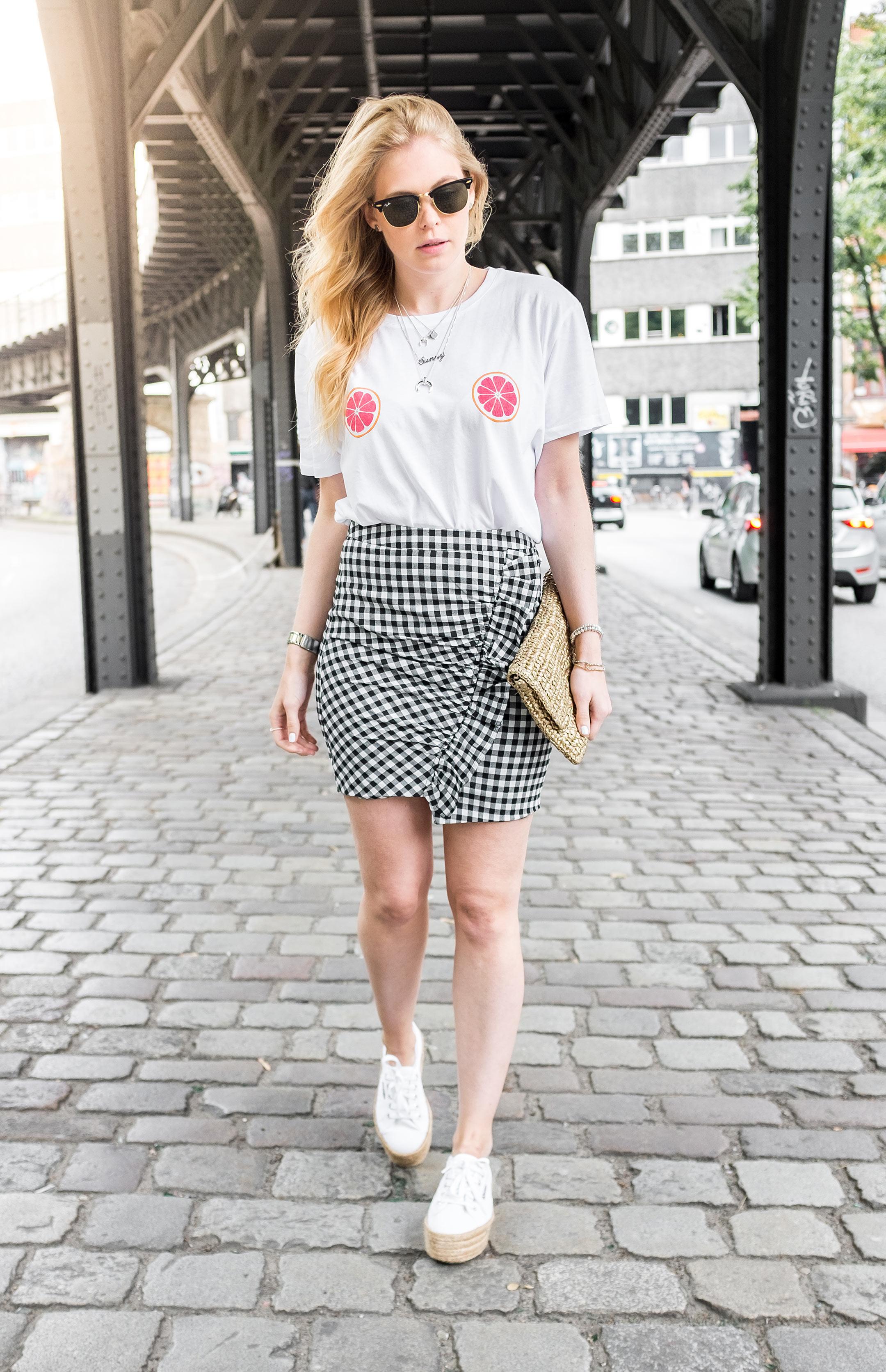 Karorock Basttasche Superga Sneakerdrilles Outfit Fashion Blog Düsseldorf Sunnyinga