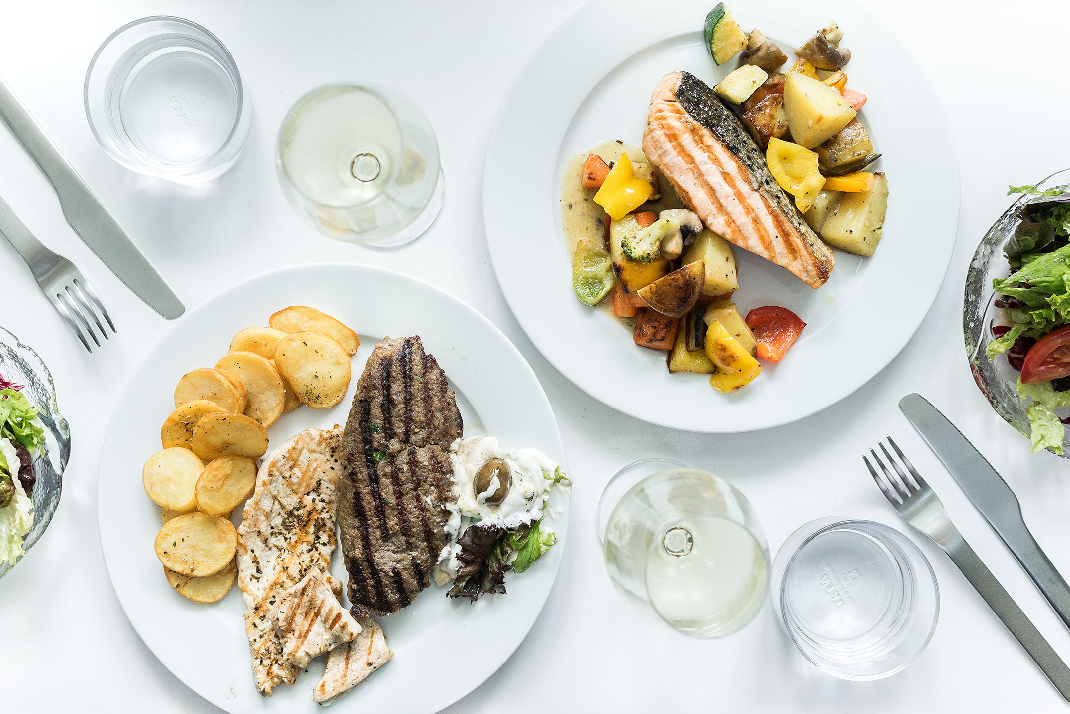 Kostas Grieche Düsseldorf Lorettostrasse Foodora Sunnyinga Lifestyle Blog