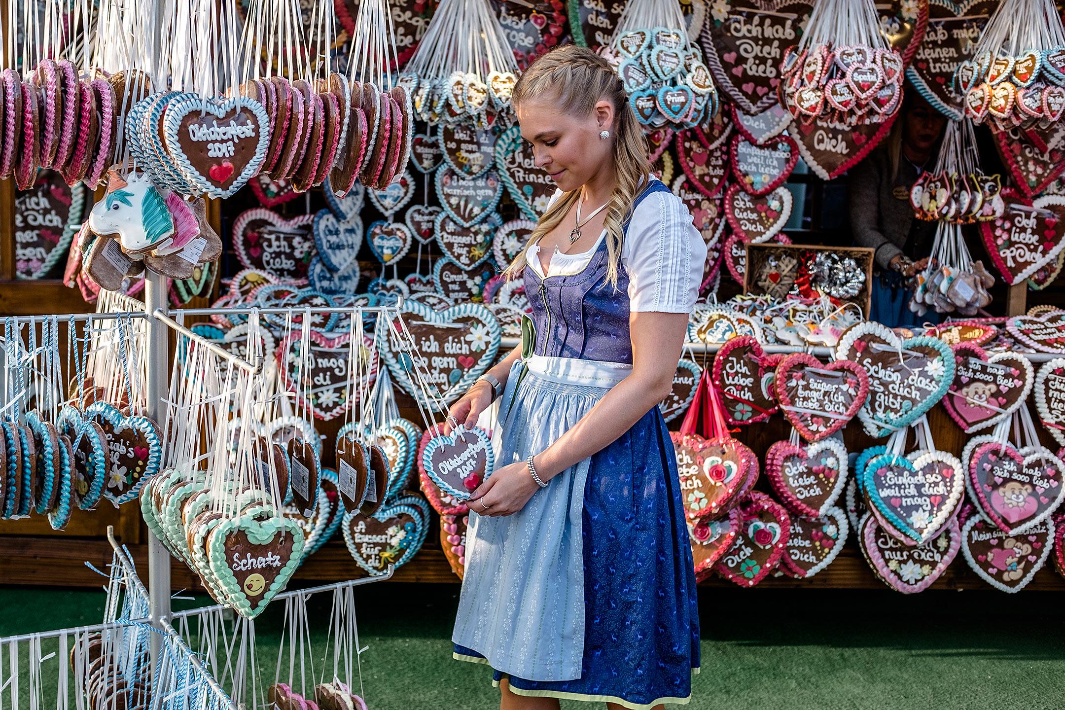 Lebkuchen Herz Oktoberfest 2017 Sunnyinga Fashion Blog