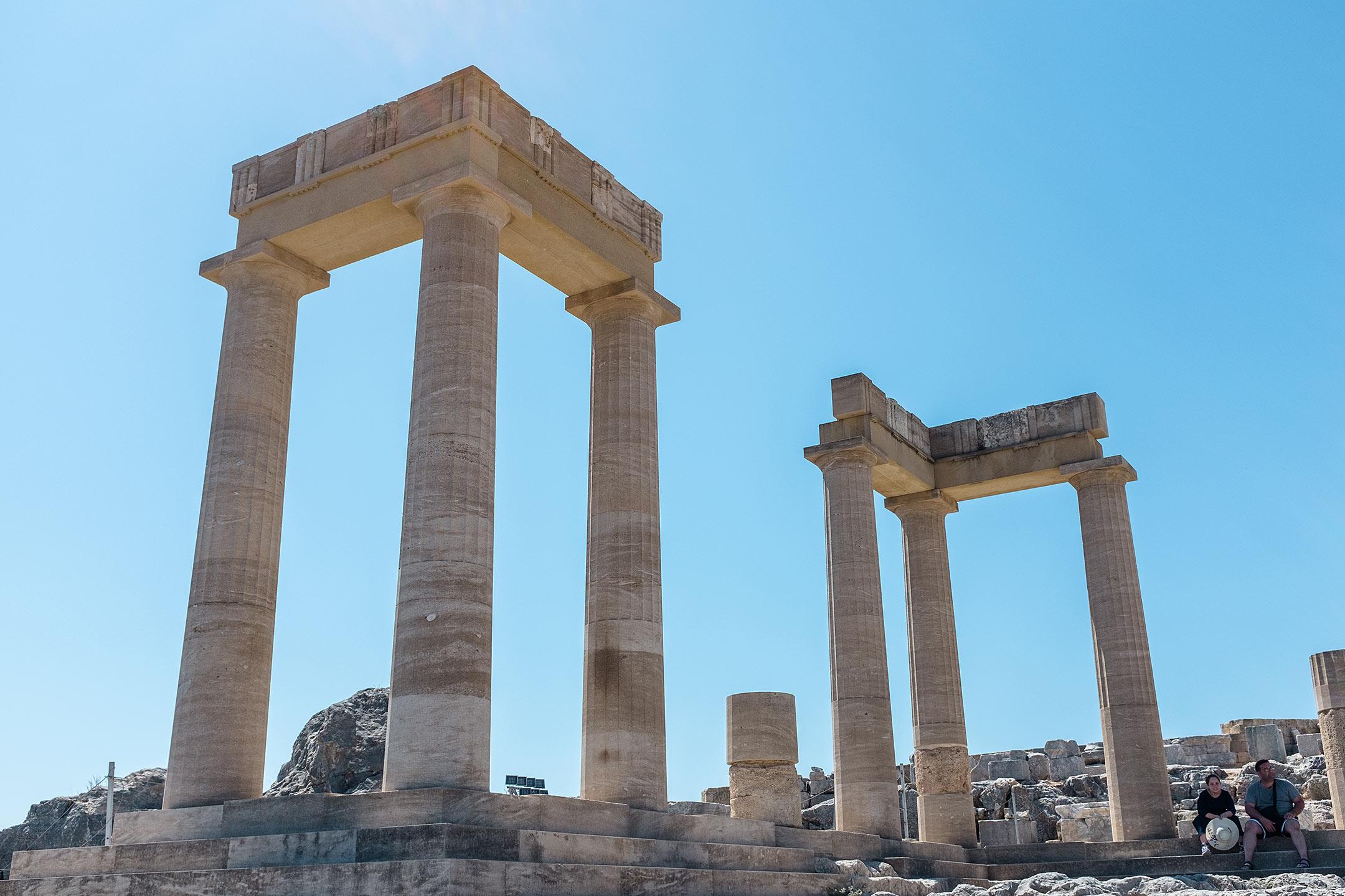 Lindos Akropolis Rhodos Griechenland Travel Blog Sunnyinga