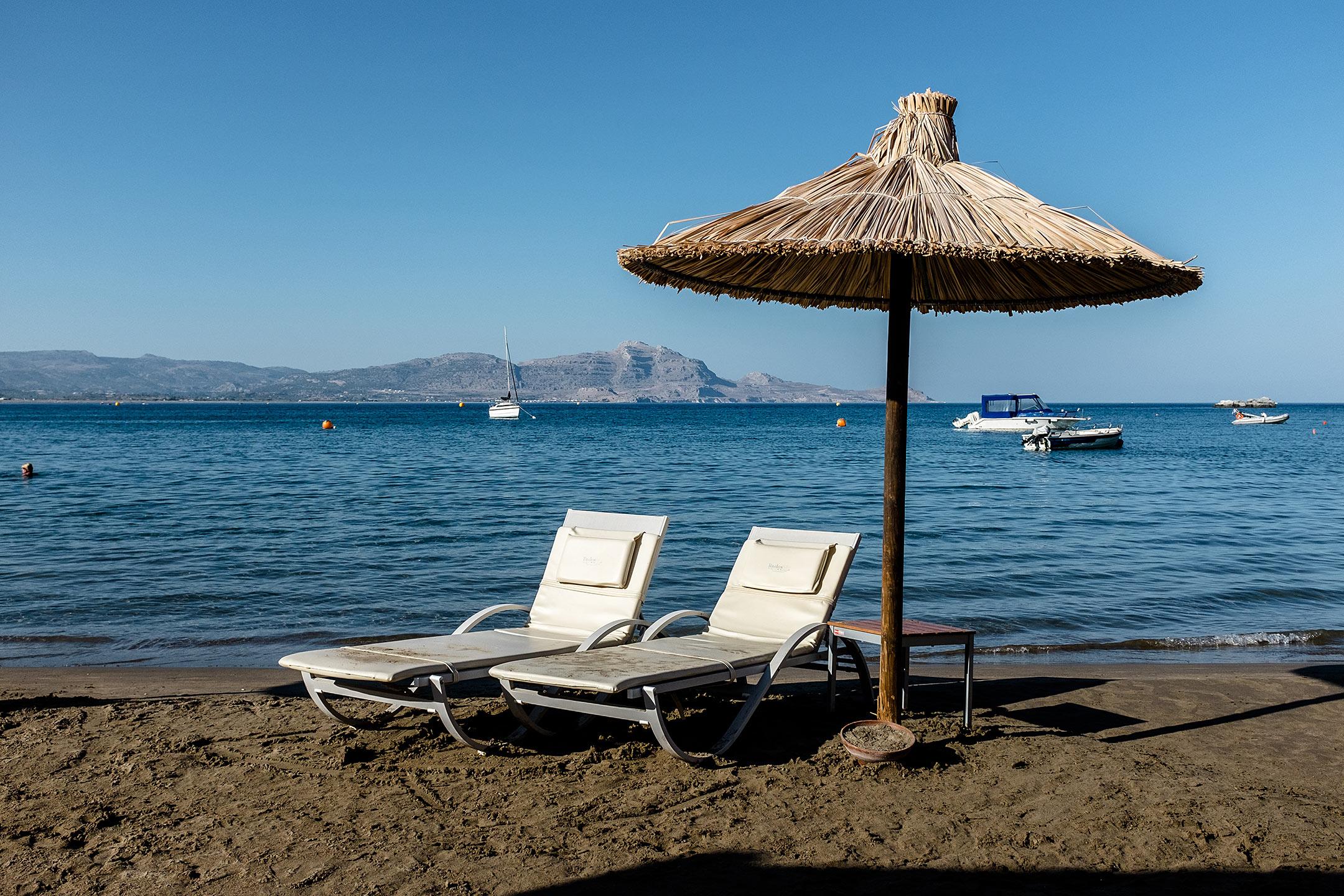 Lindos Blu Luxury Hotel Rhodos Beach Travel Blog Sunnyinga