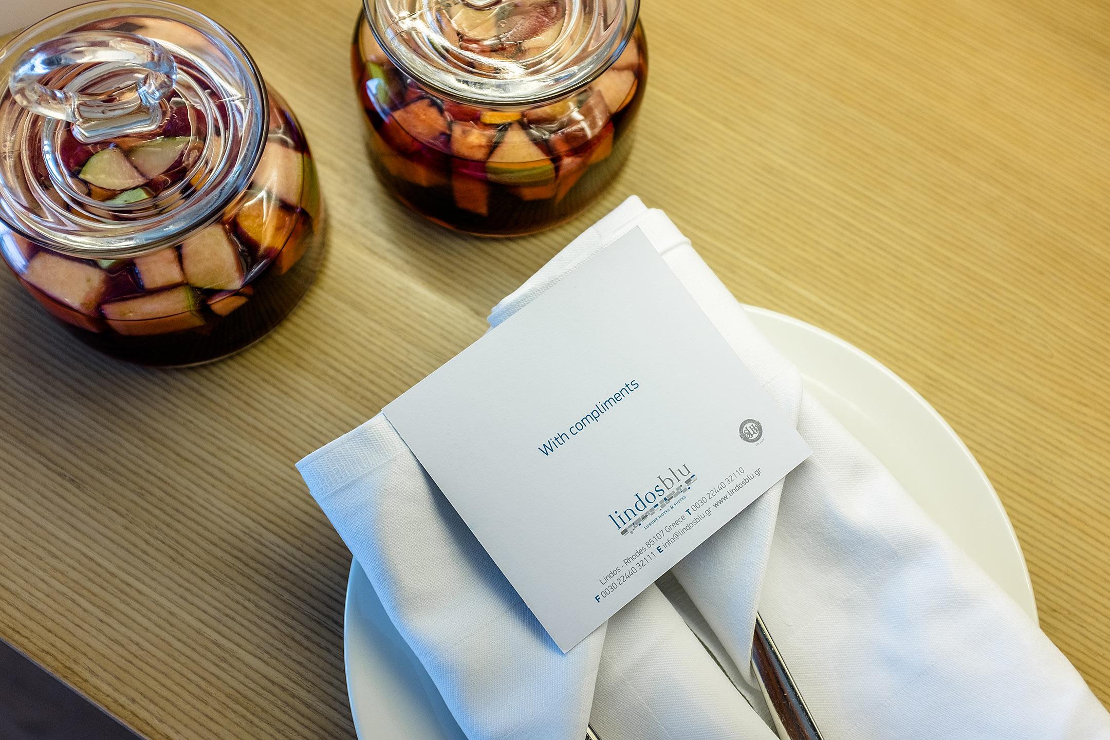 Lindos Blu Luxury Hotel Rhodos Empfang Travel Blog Sunnyinga