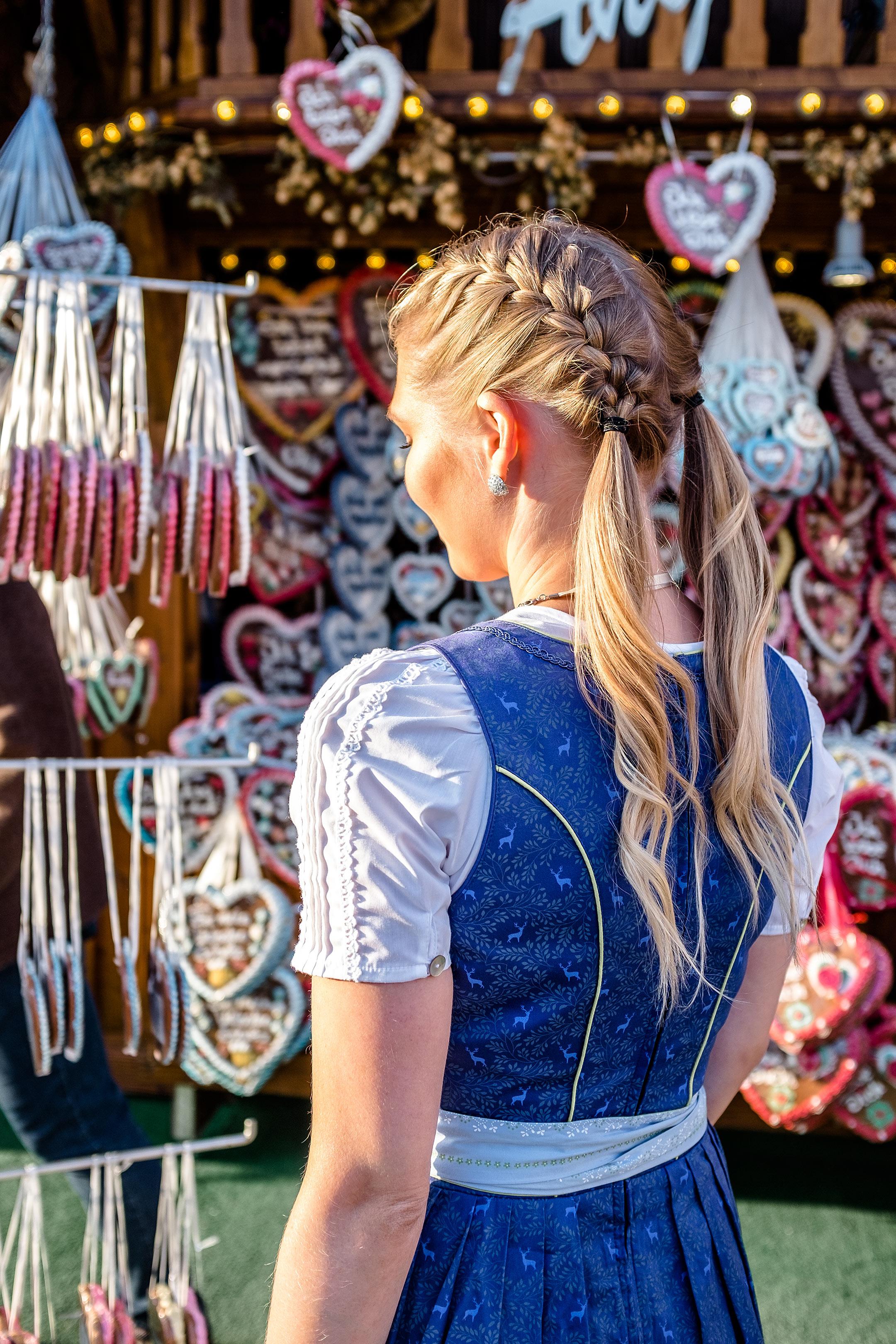 Oktoberfest Frisur Flechtfrisur Zöpfe Wiesn Fashion Blog Sunnyinga