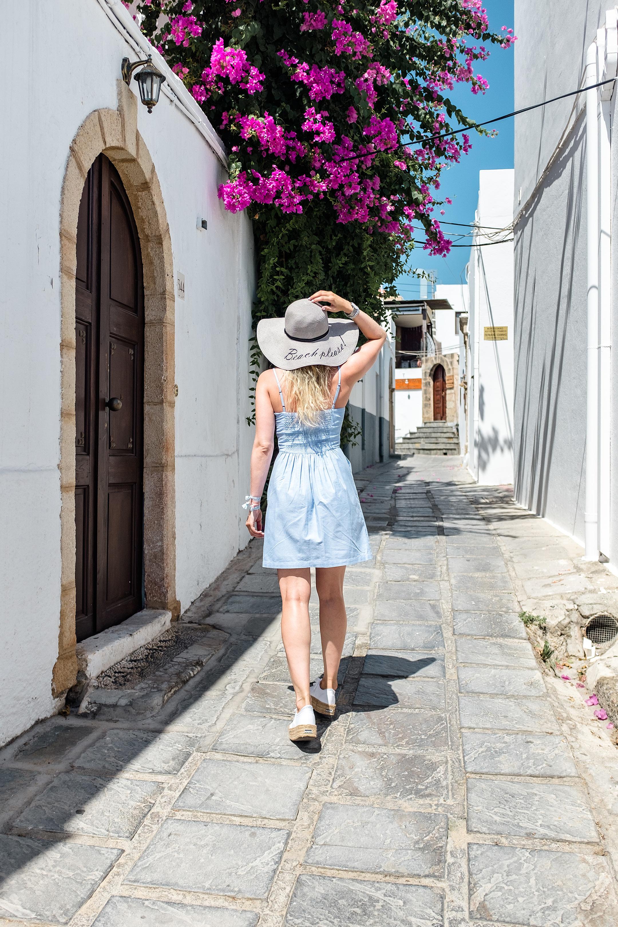 Outfit Lindos Griechenland Urlaub Sunnyinga