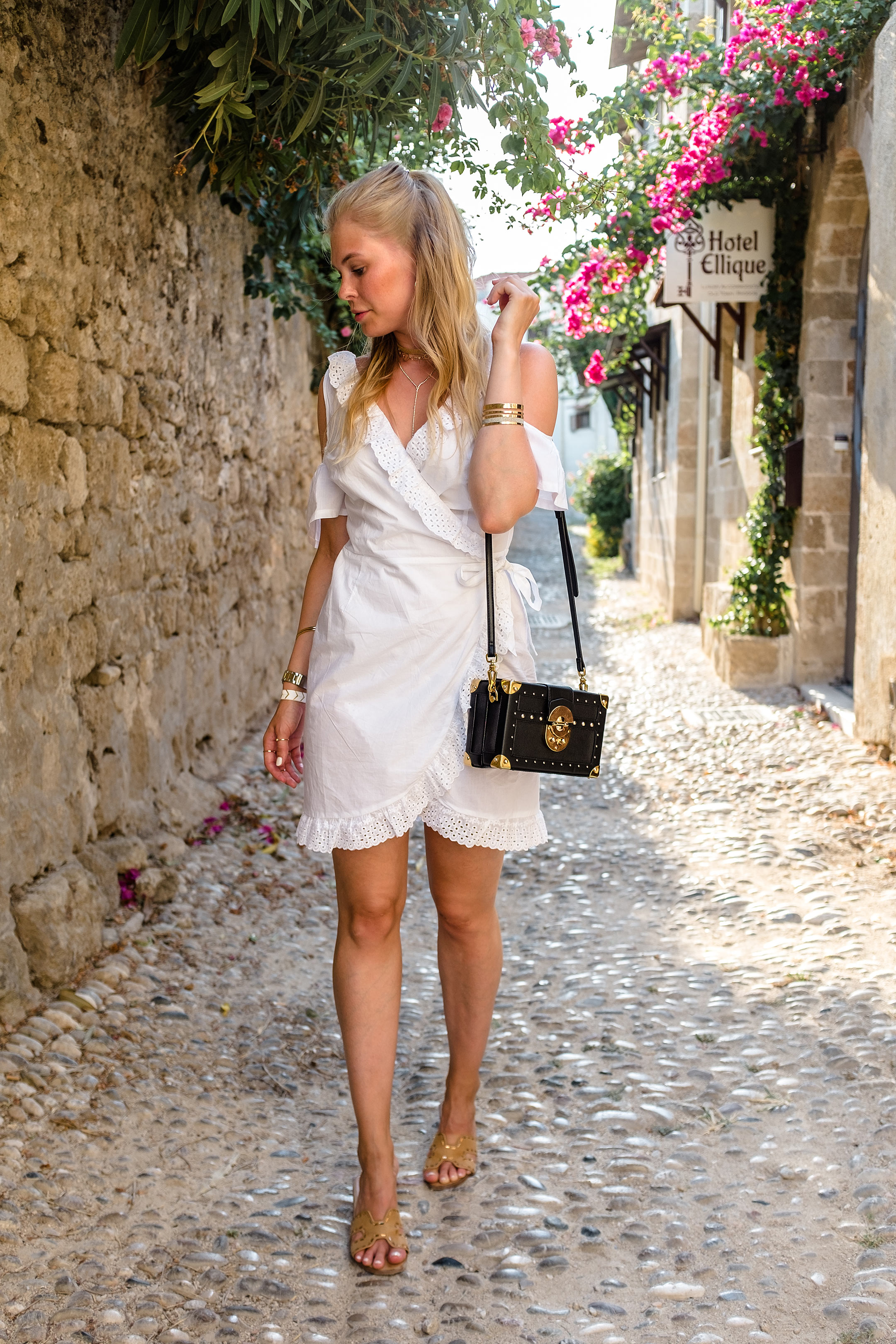 Outfit Rhodos Griechenland Fashionblog Inspiration Sommer Sunnyinga