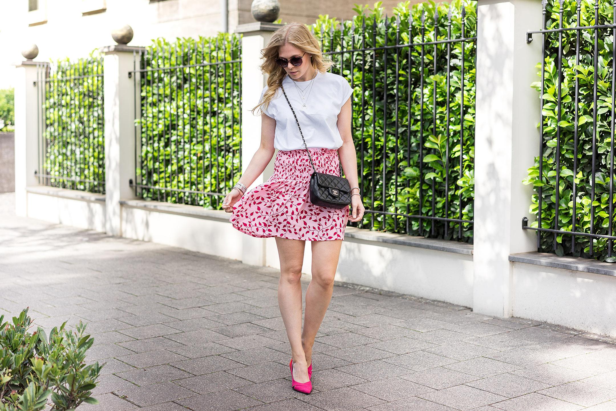 Outfit Rot und Pink Blogger Modeblog Düsseldorf Sunnyinga