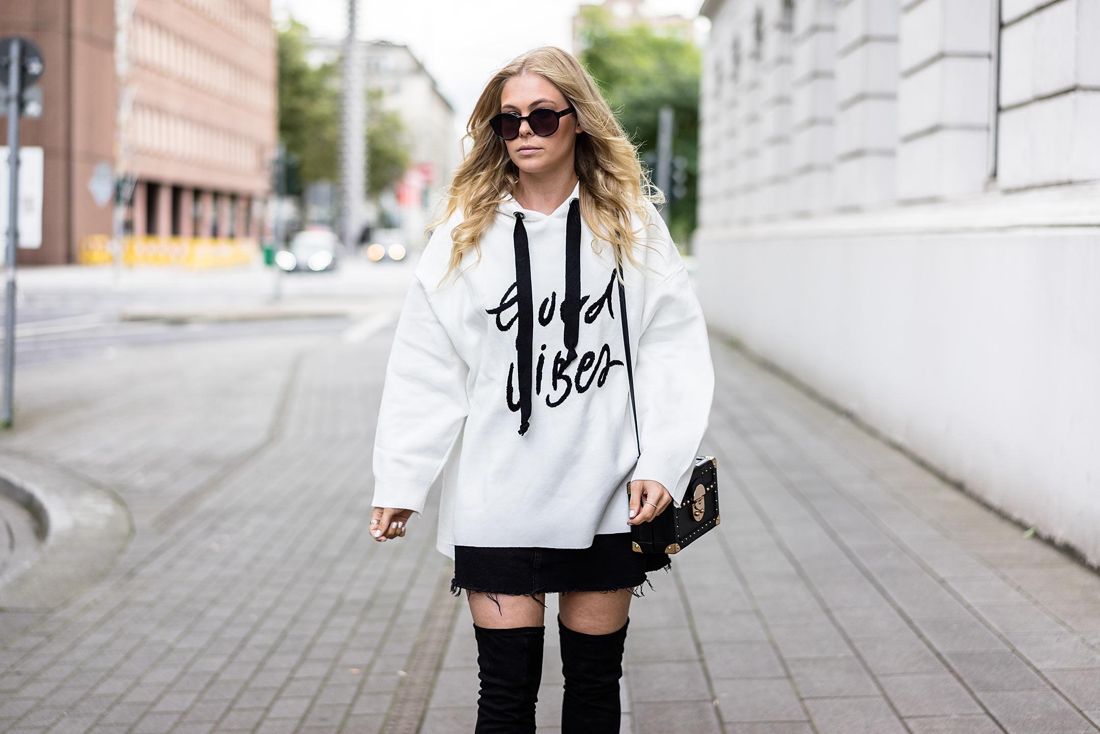 Oversized Sweatshirt Herbstoutfit Inspiration Modeblog Sunnyinga