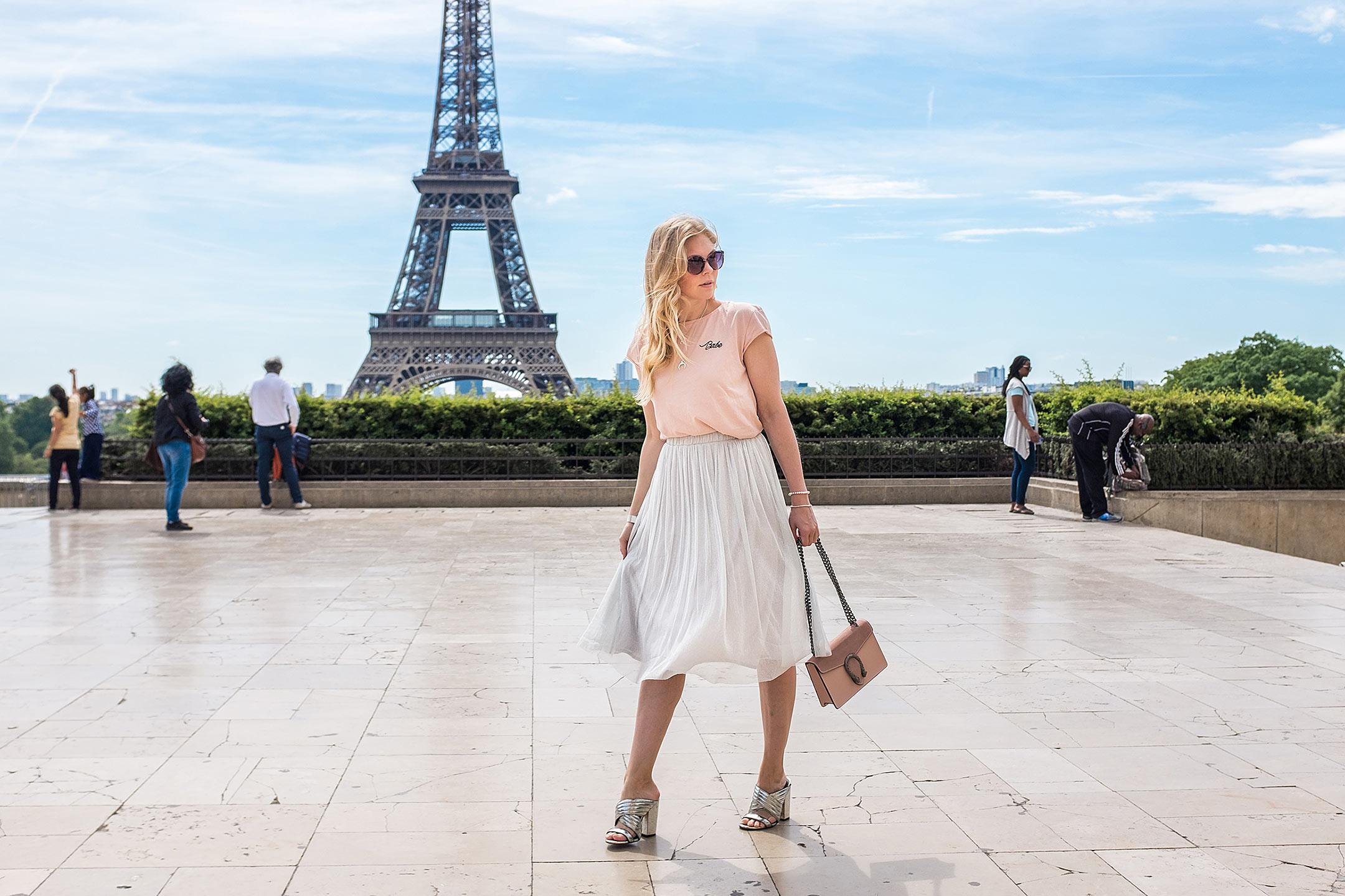 Paris Eiffelturm Place du Trocadero Travelblog Sunnyinga