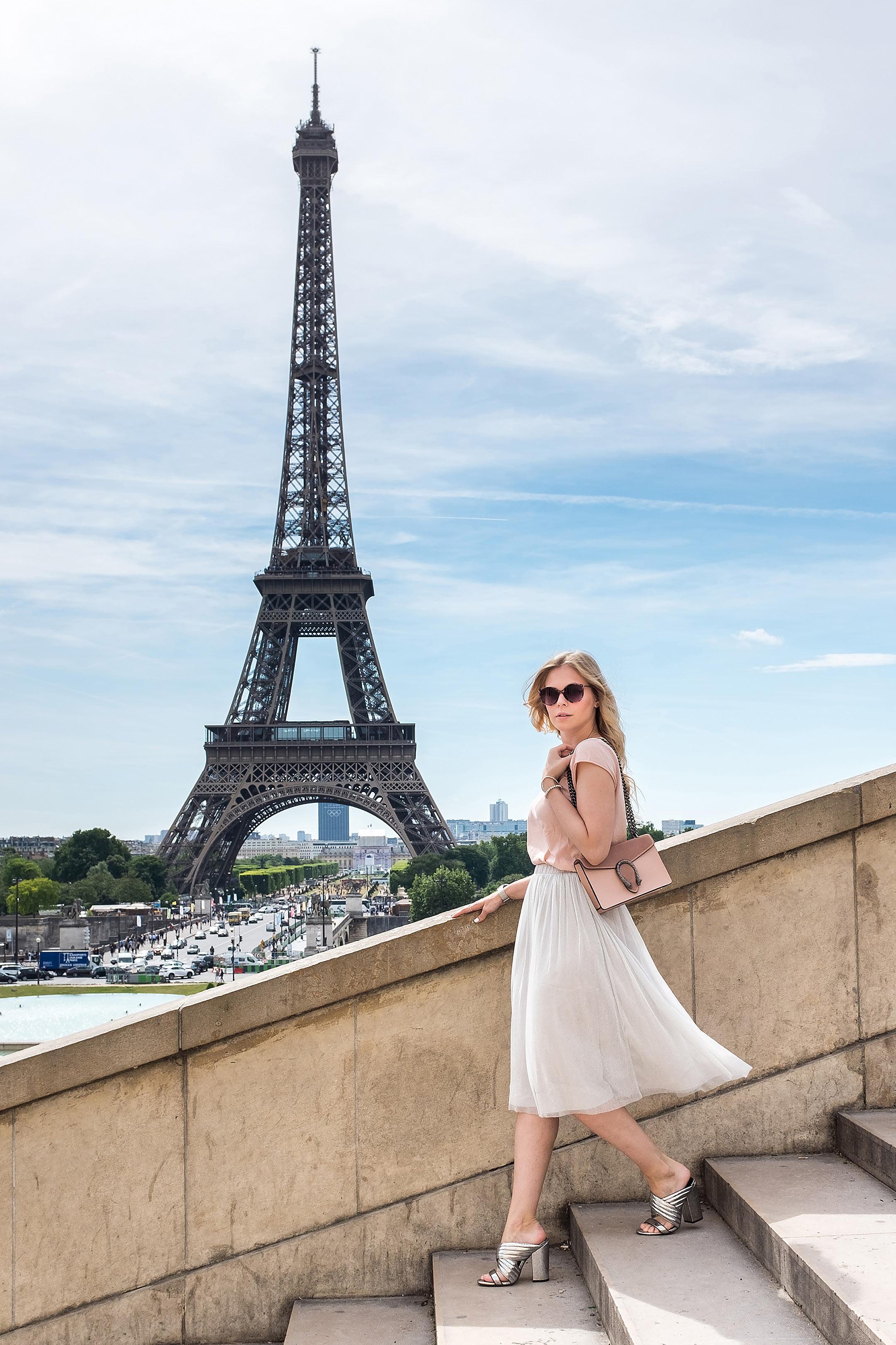 Paris Eiffelturm Treppe Travelblog Sunnyinga