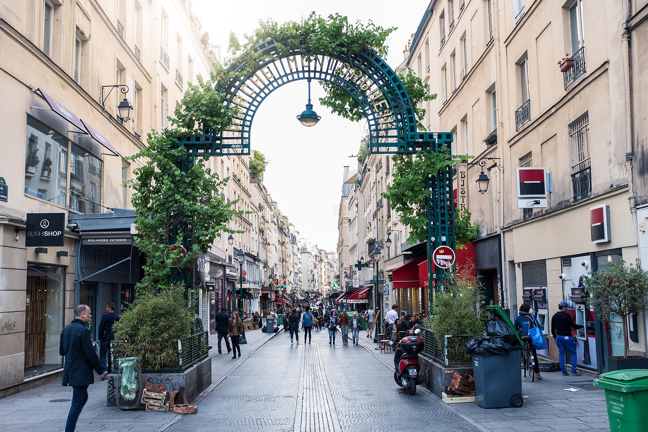 Paris Rue Montorgueil Travelblog Sunnyinga