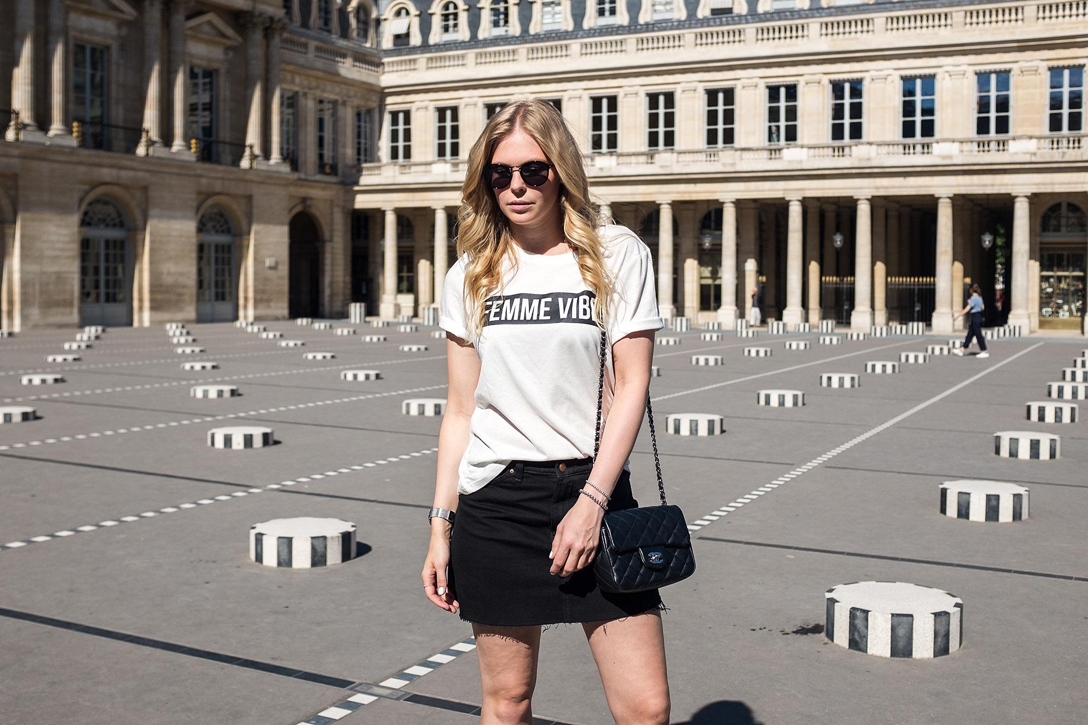 Parisian Girl Outfit Inspiration Modeblog Düsseldorf Sunnyinga