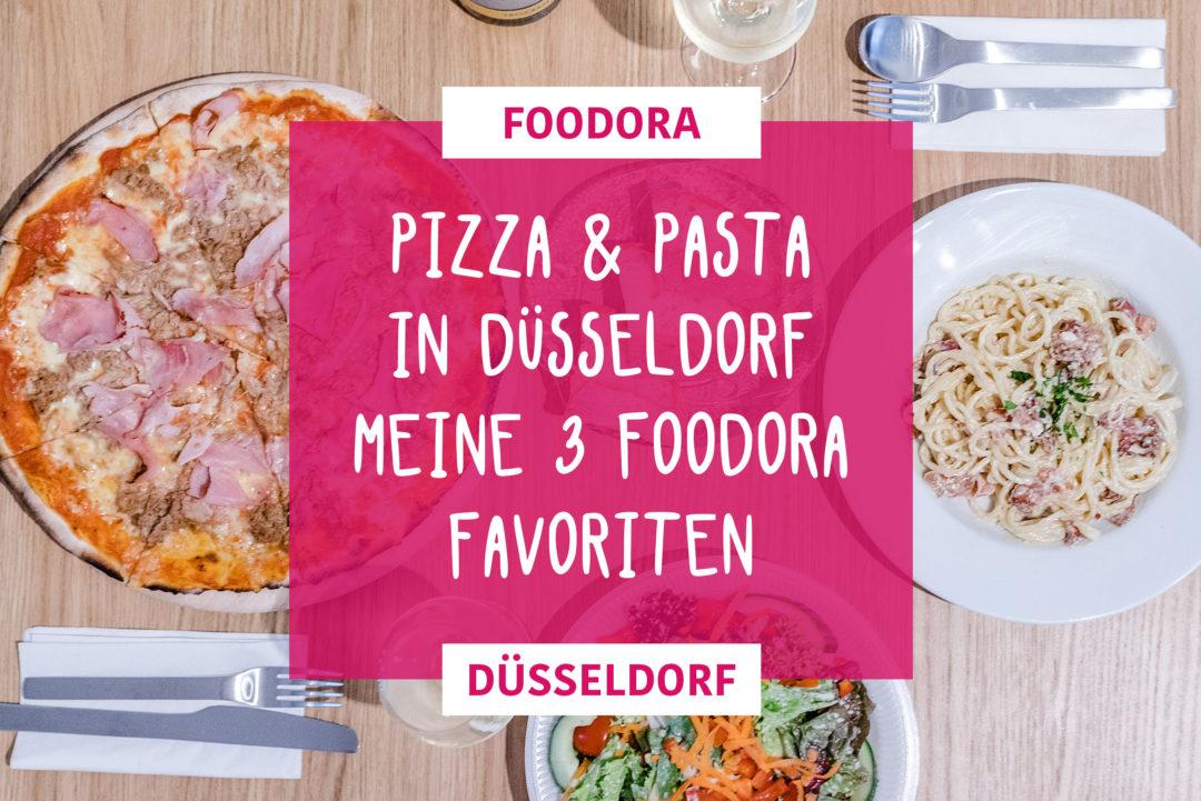 Pizza & Pasta in Düssseldorf foodora Lieferdienst Favortien Sunnyinga Lifestyle Blog Food Essen