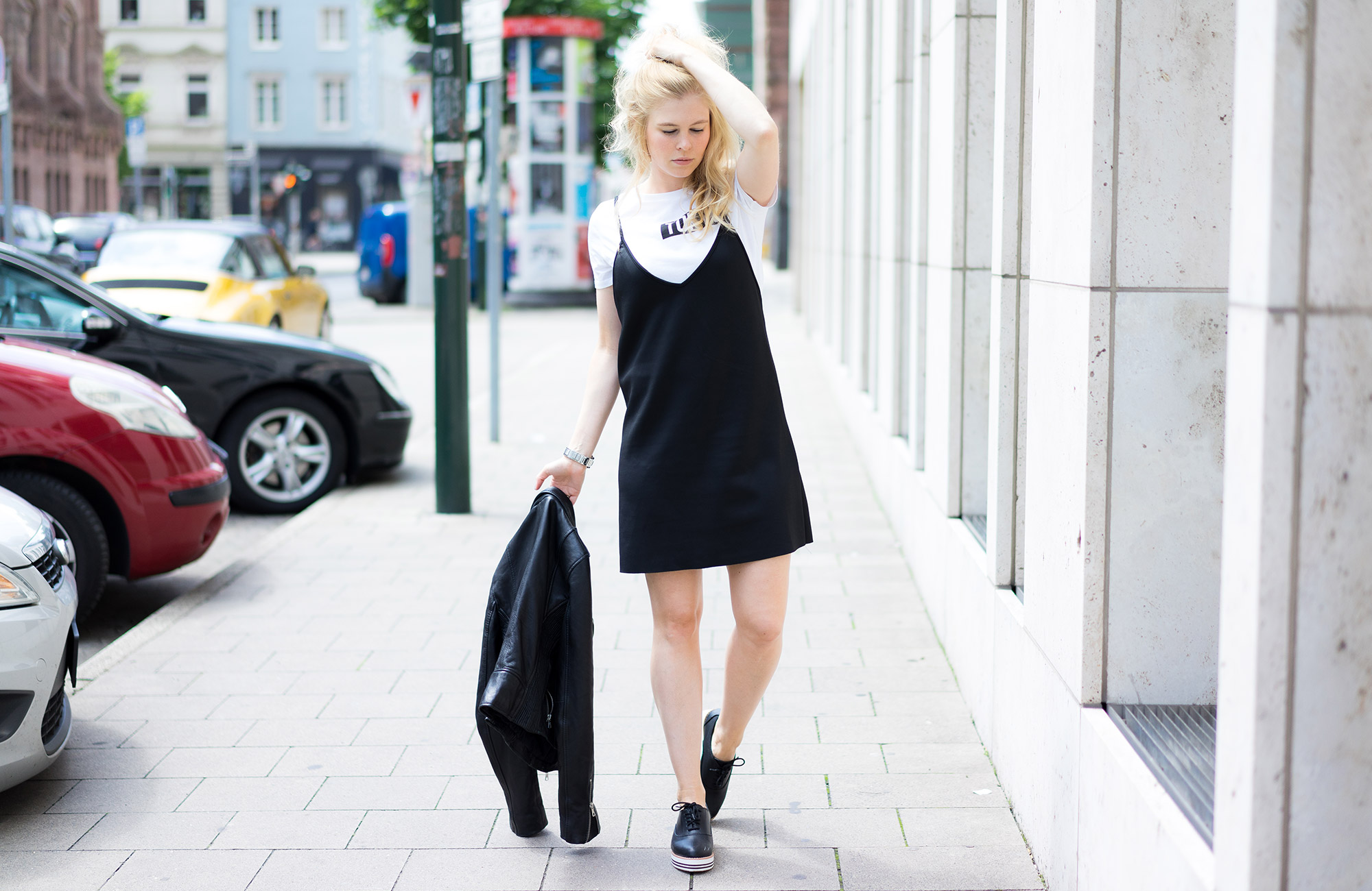 Slip Dress Streetstyle