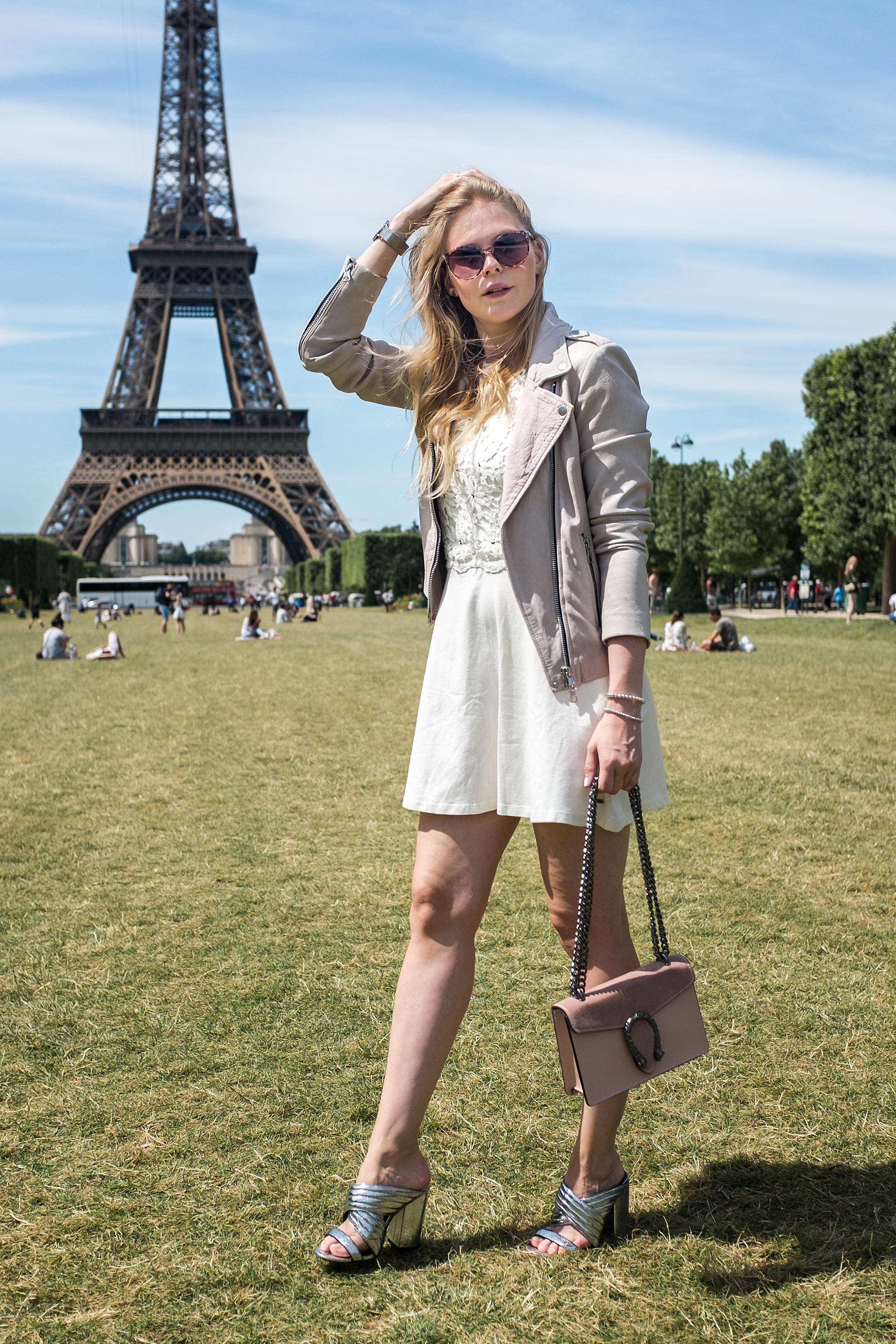 Sommeroutfit Kleid weiß Inspiration Sommerlook Modeblog Düsseldorf Sunnyinga
