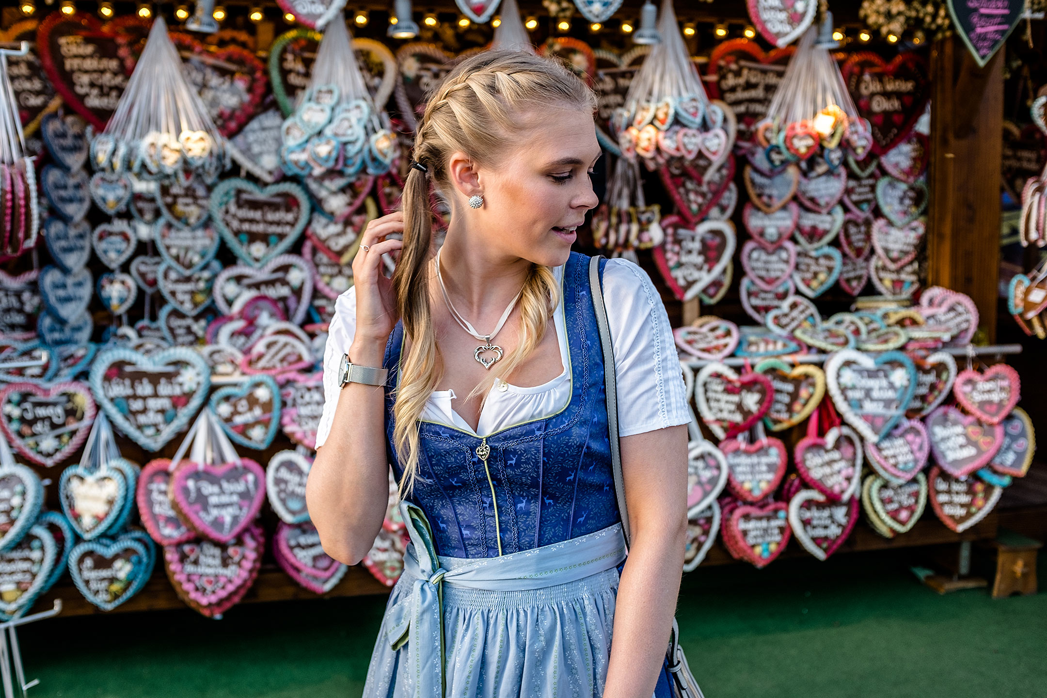 Spieth & Wensky Dirndl Wiesn Outfit Fashion Blog Sunnyinga