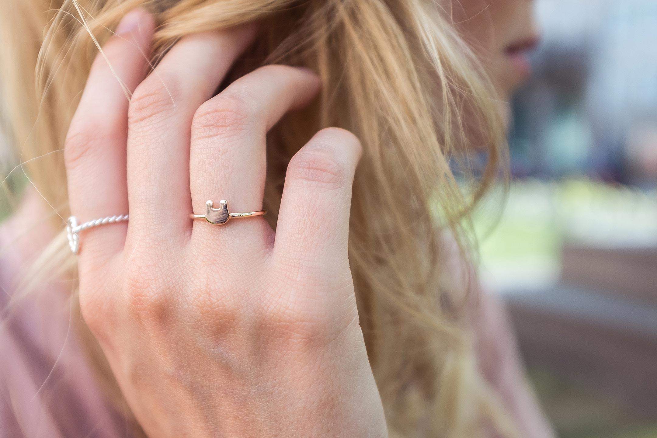 Stilnest Bunny Ring Rosé Gold Sunnyinga Modeblog