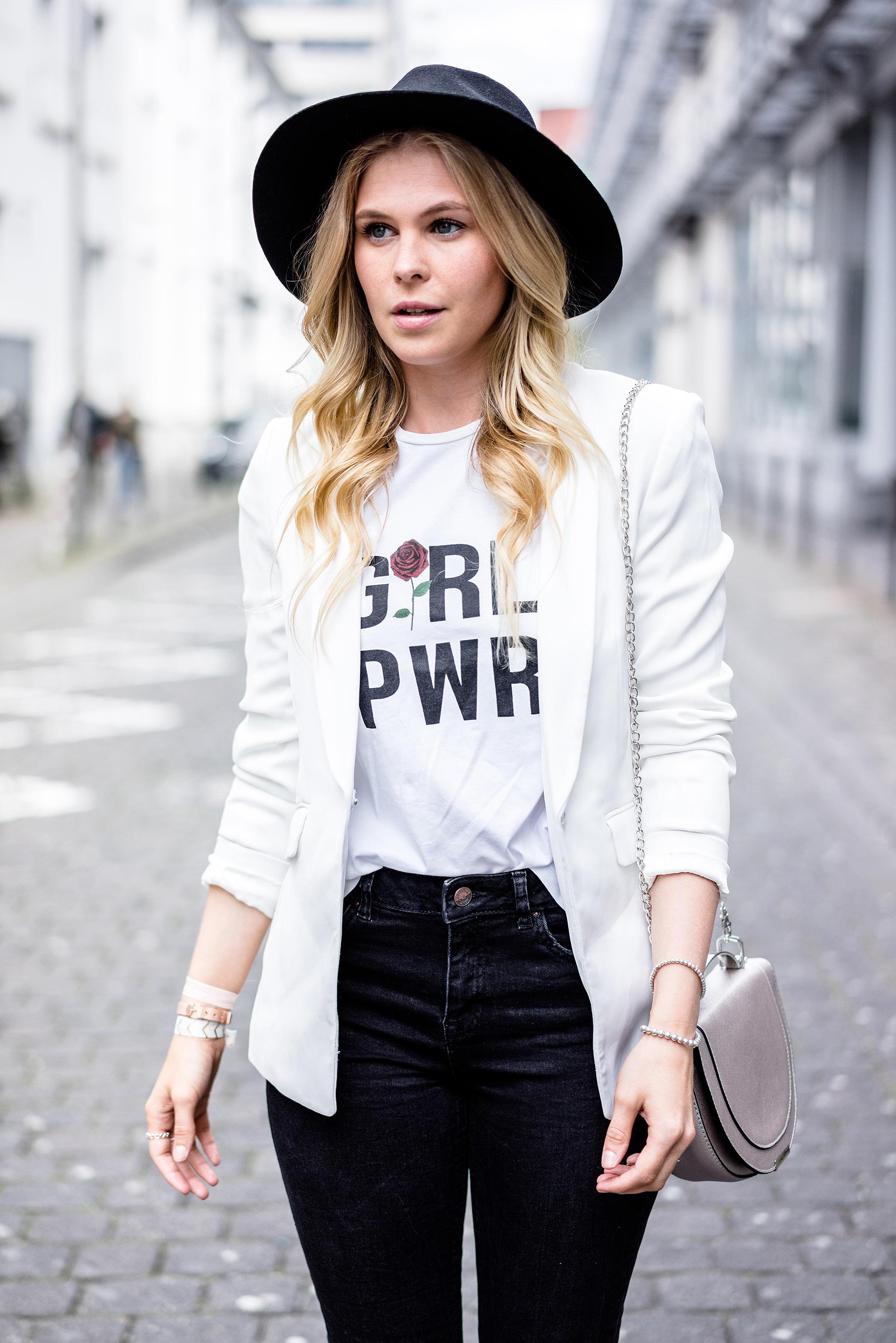 Streetstyle Outfit Hut Herbst-Accessoires Sunnyinga Blogger Düsseldorf