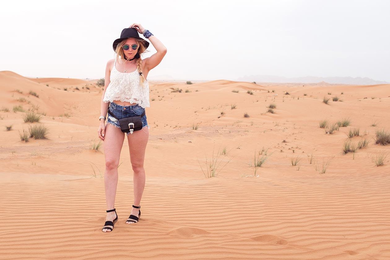 Sunnyinga Festival Outfit Wüste Dubai Fashionblog