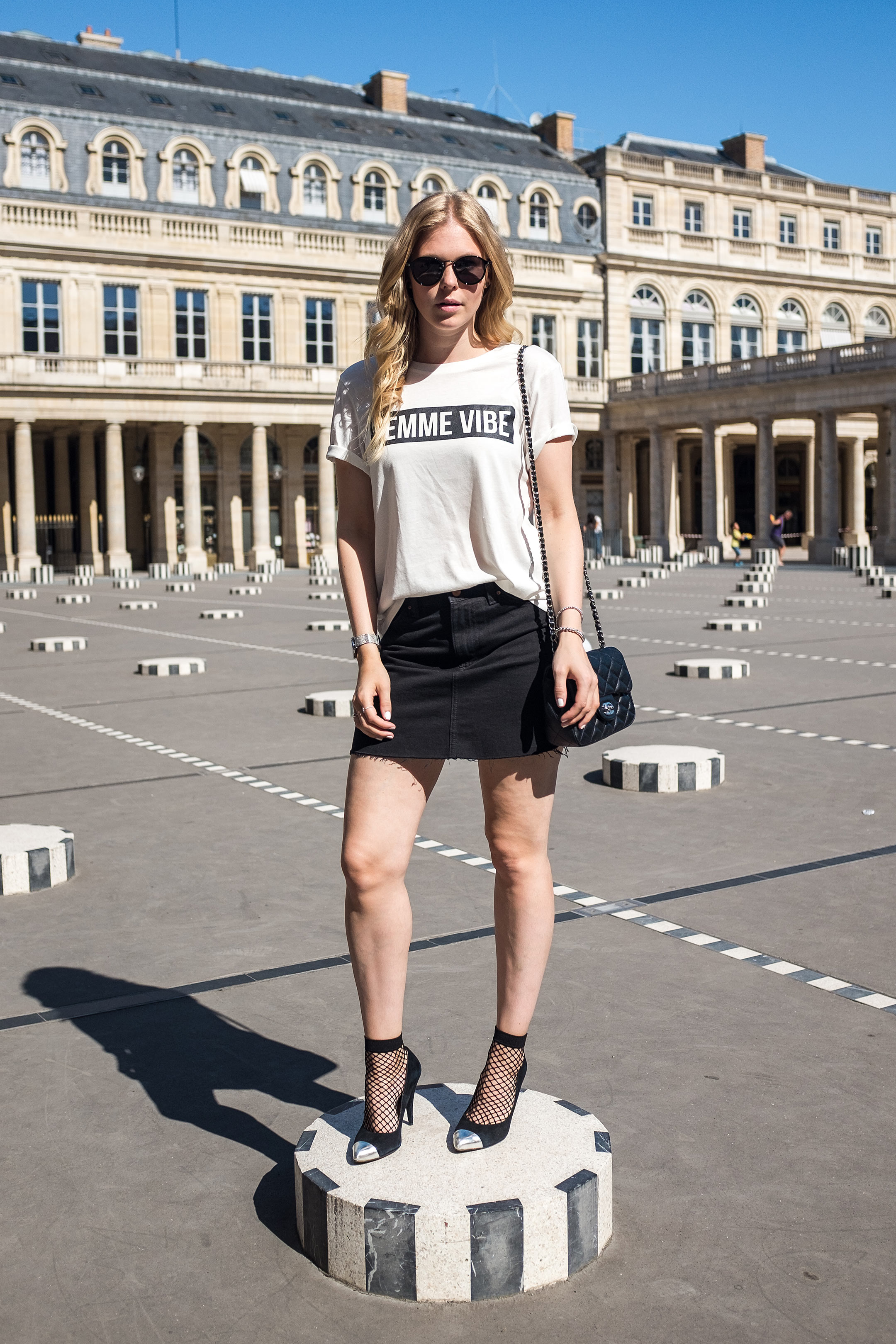 Sunnyinga Paris Oufit Parisian Girl Fashionblog