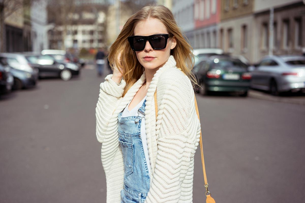 Sunnyinga Sonnenbrille schwarz Outfit Düsseldorf