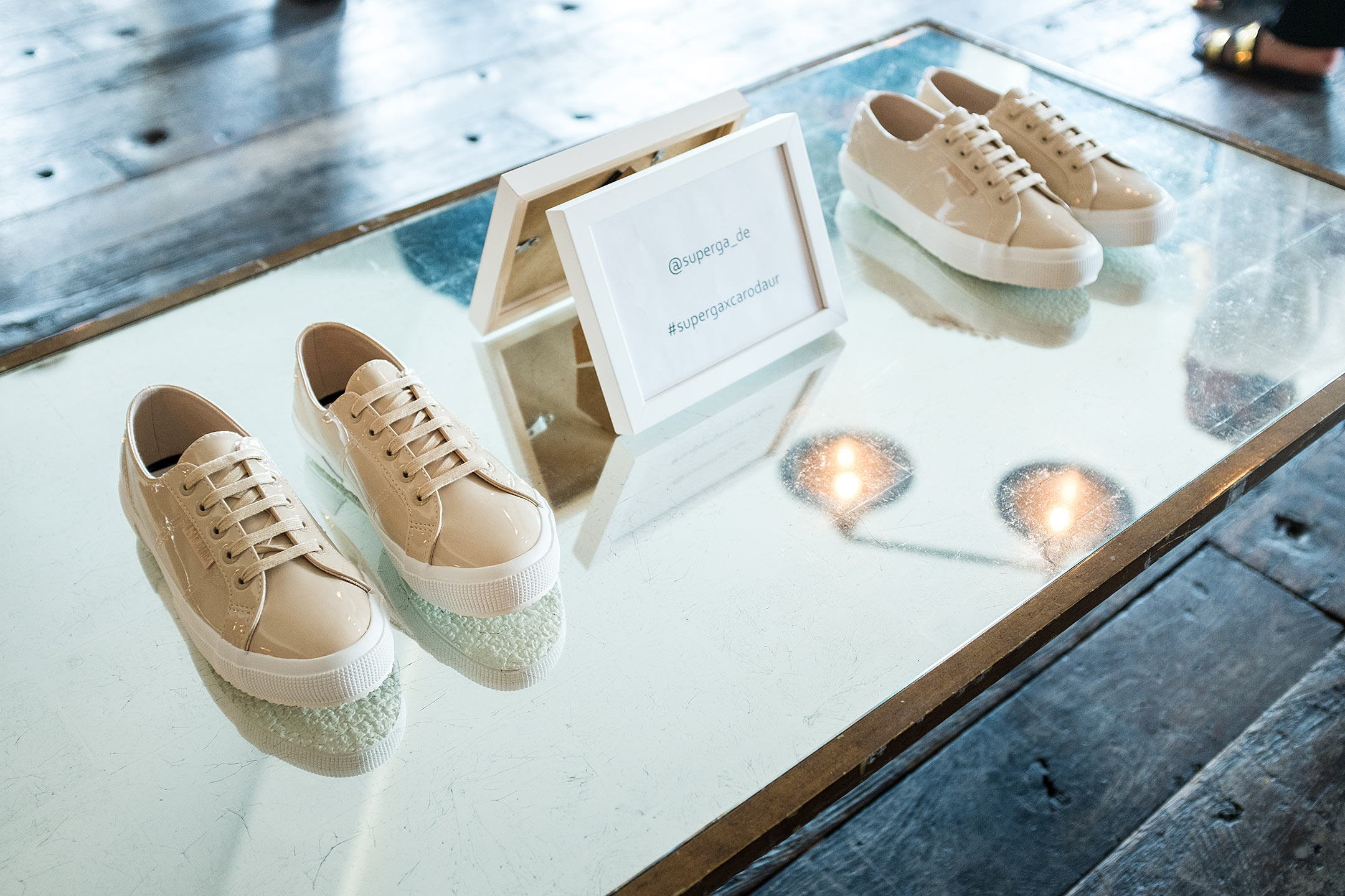 Superga CaroDaur Schuhe Schuhkollektion Soho House Berlin Event Sunnyinga