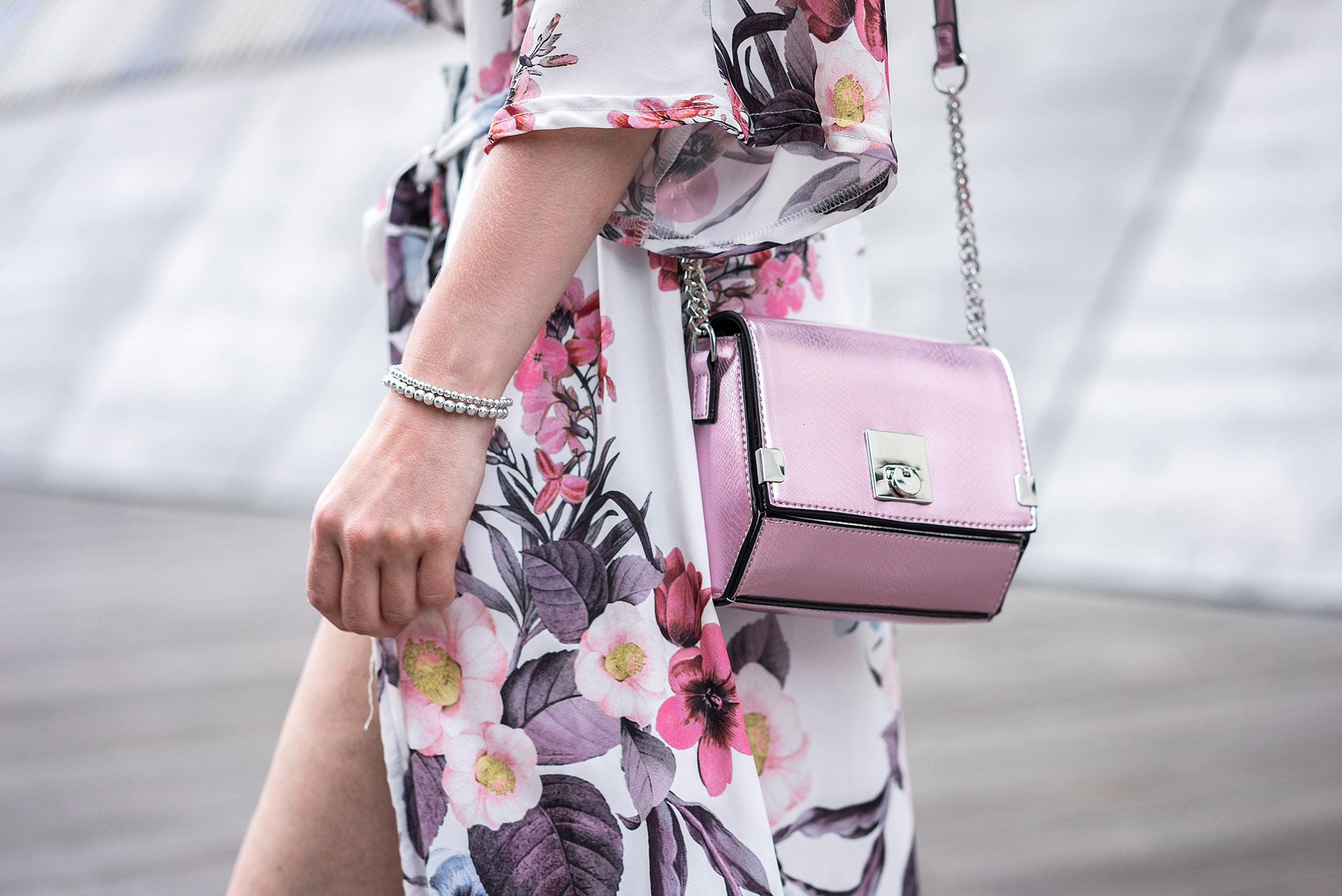 Tasche pink metallic Fashionblog Düsseldorf Sunnyinga