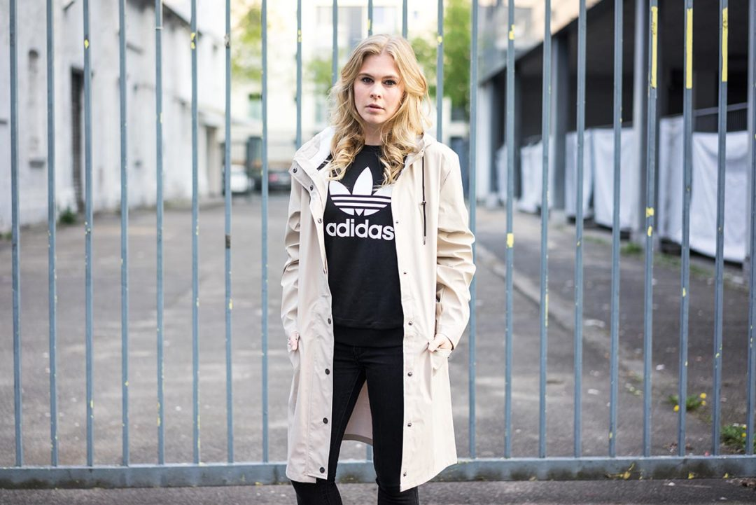 Übergangsmantel Regenmantel About You Sunnyinga Fashionblog